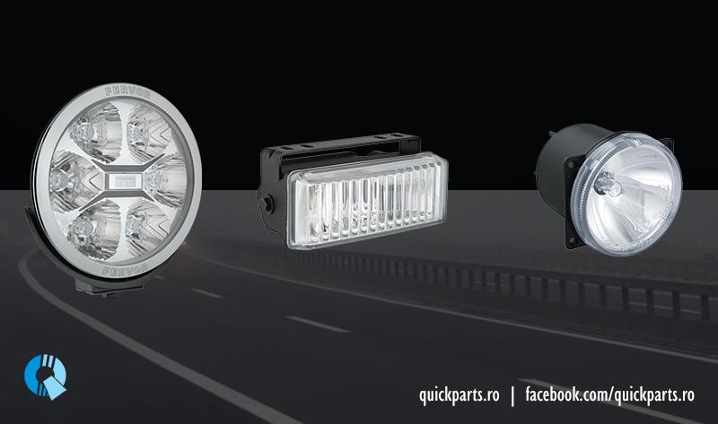 proiector ceata pentru autovehicule si camioane